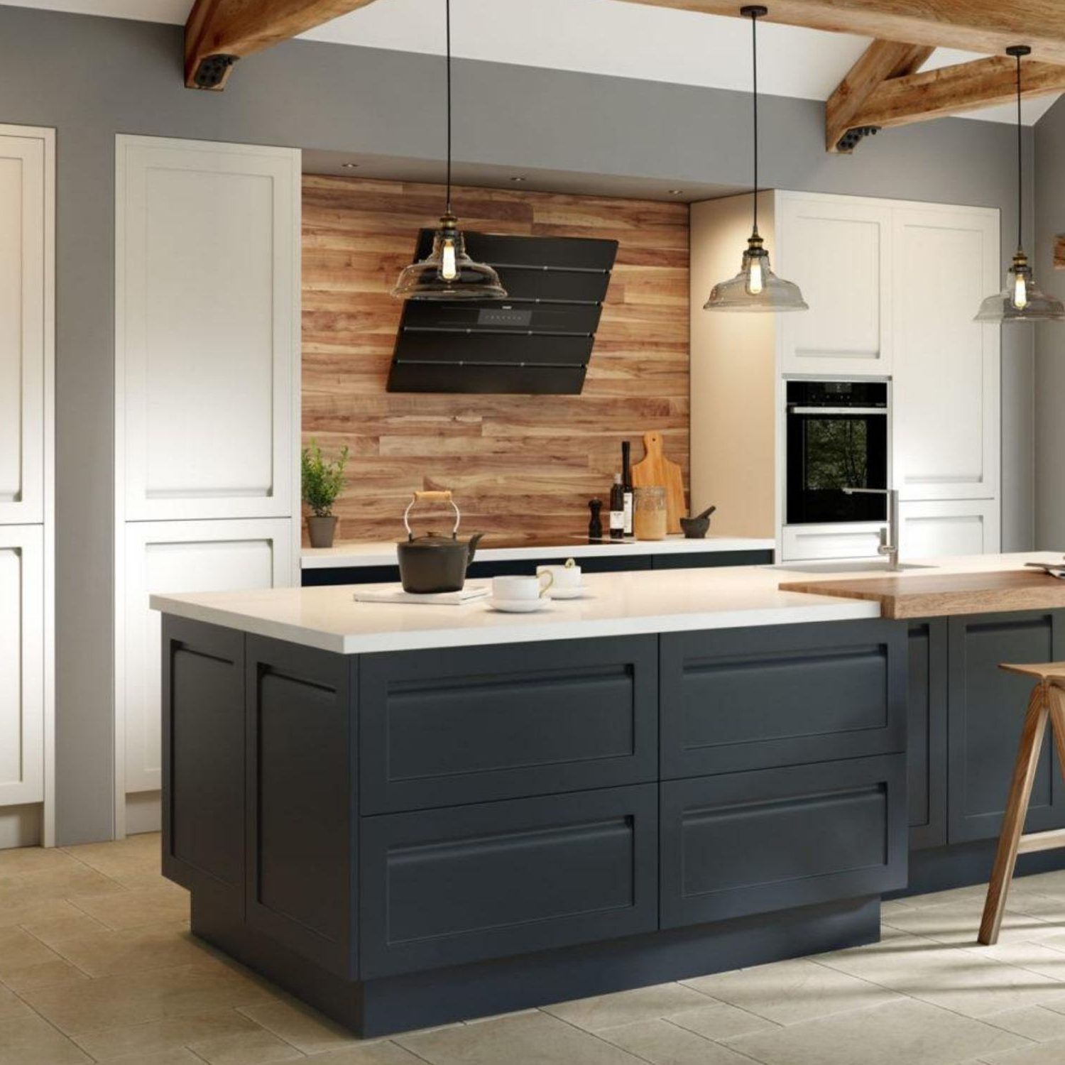 contemporary kitchen surrey